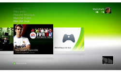 DASHboard XBOX 360 12611 GAMES ON DEMAND