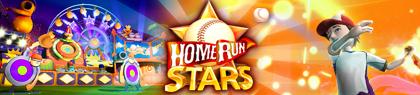 Home Run Stars kinect arcade banniere