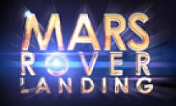 mars rover landing vignette