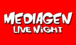 mediagen live night logo
