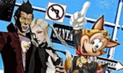 No More Heroes Famitsu PS3 Xbox 360 logo