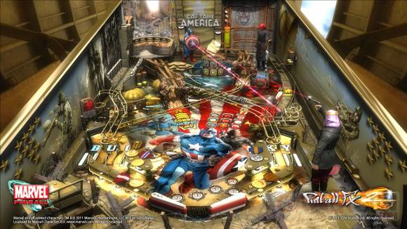 Pinball FX2 Captain America
