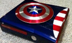 Xbox 360 S Captain America   captures vignette
