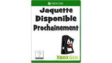 boitier Jaquette Xbox One Petite taille