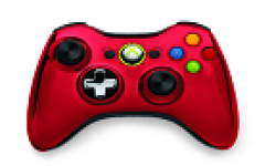 manette chrome serie rouge vignette