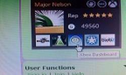 xbox dashboard gamercard major nelson vignette